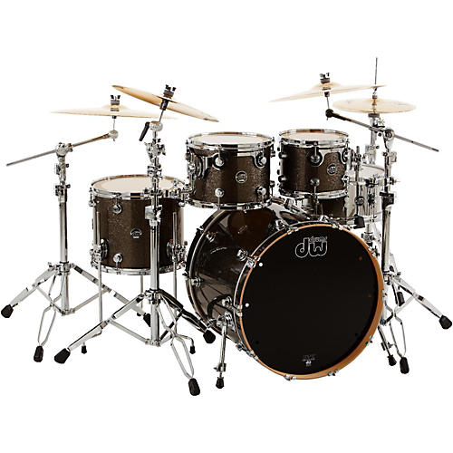 DW Performance Series 4-Piece Shell Pack with Snare Drum