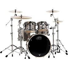 Performance Series 5-Piece Shell Pack Titanium Sparkle Finish with Chrome Hardware