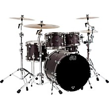 Performance Series 5-Piece Shell Pack with Chrome Hardware Ebony Stain Lacquer
