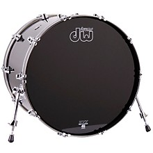 Performance Series Bass Drum Gun Metal Metallic Lacquer 18x24