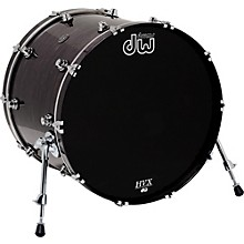 DW Performance Series Bass Drum Level 1 20 x 16 in. Ebony Stain Lacquer