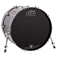 DW Performance Series Bass Drum Level 1 Gun Metal Metallic Lacquer 18x22
