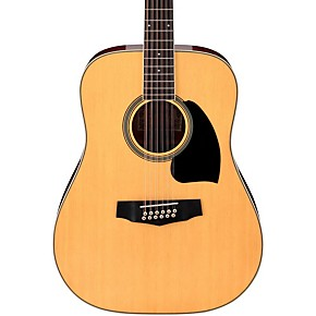 ibanez performance series pf1512 dreadnought 12 string acoustic guitar natural guitar center. Black Bedroom Furniture Sets. Home Design Ideas