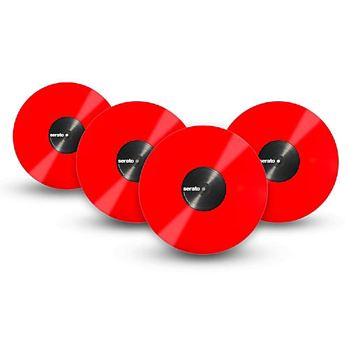 SERATO Performance Series Vinyl (4-Pack) OFFICAL Mis-Print  Red