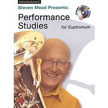 De Haske Music Performance Studies for Euphonium TC De Haske Play-Along Book Series Softcover with CD by Steven Mead