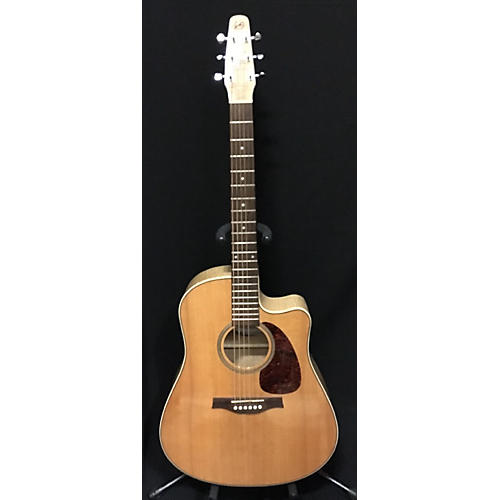 Seagull Performer CW Flame Maple QIT Acoustic Electric Guitar