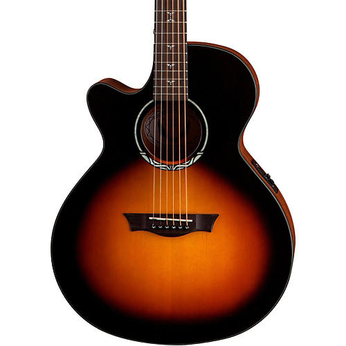 Dean Performer Plus Solid Top Left-Handed Acoustic-Electric Guitar