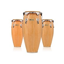 Performer Series 3-Piece Conga Set with Chrome Hardware Natural