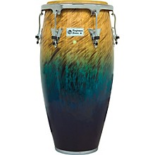 Performer Series Conga with Chrome Hardware 11.75 in. Blue Fade