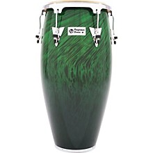 Performer Series Conga with Chrome Hardware 11.75 in. Green Fade