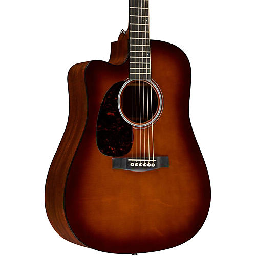 Martin Performing Artist Series DCPA4 Shaded Top Left-Handed Acoustic-Electric Guitar