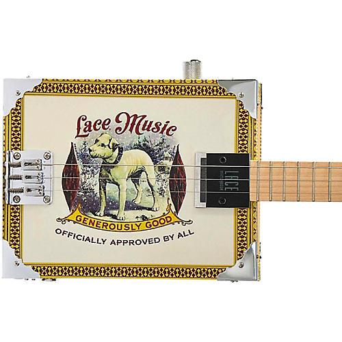 lace pero pup acoustic electric cigar box guitar 3 string guitar center. Black Bedroom Furniture Sets. Home Design Ideas