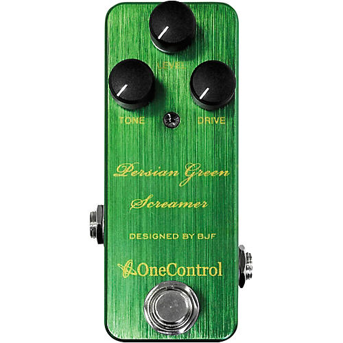 One Control Persian Green Screamer Overdrive Effects Pedal