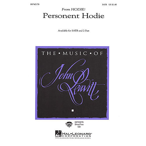 Hal Leonard Personent Hodie (SATB) SATB arranged by John Leavitt