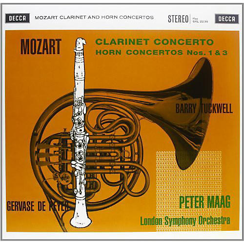 Alliance Peter Maag - Clarinet Concerto