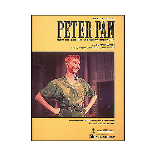 Hal Leonard Peter Pan Vocal Selections From The Original Broadway Musical Hit arranged for piano, vocal, and guitar (P/V/G)