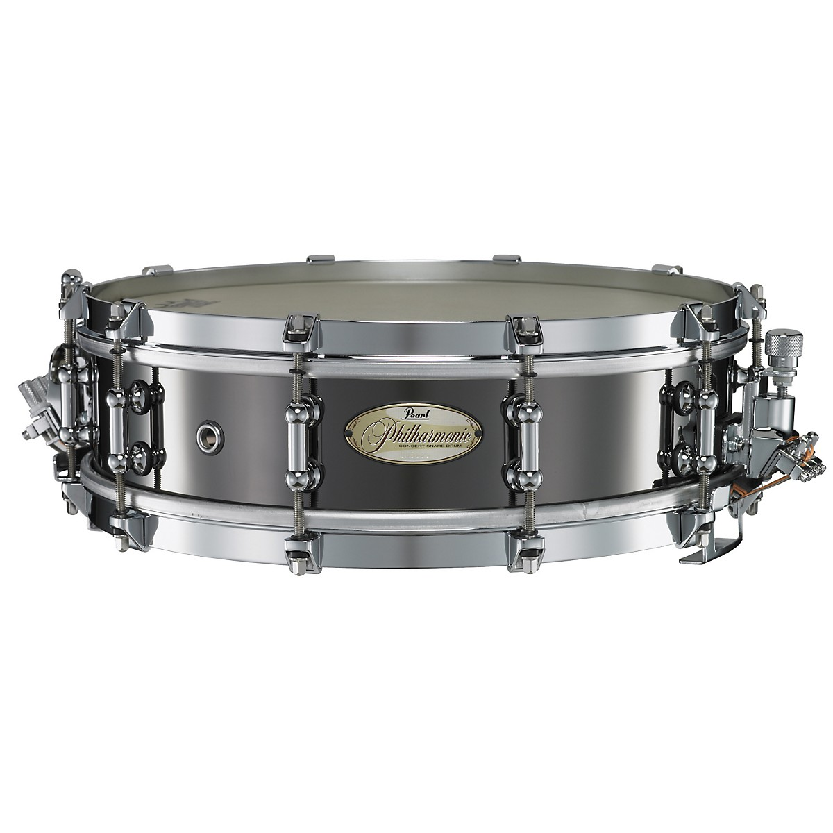 Pearl Philharmonic Brass Snare Drum