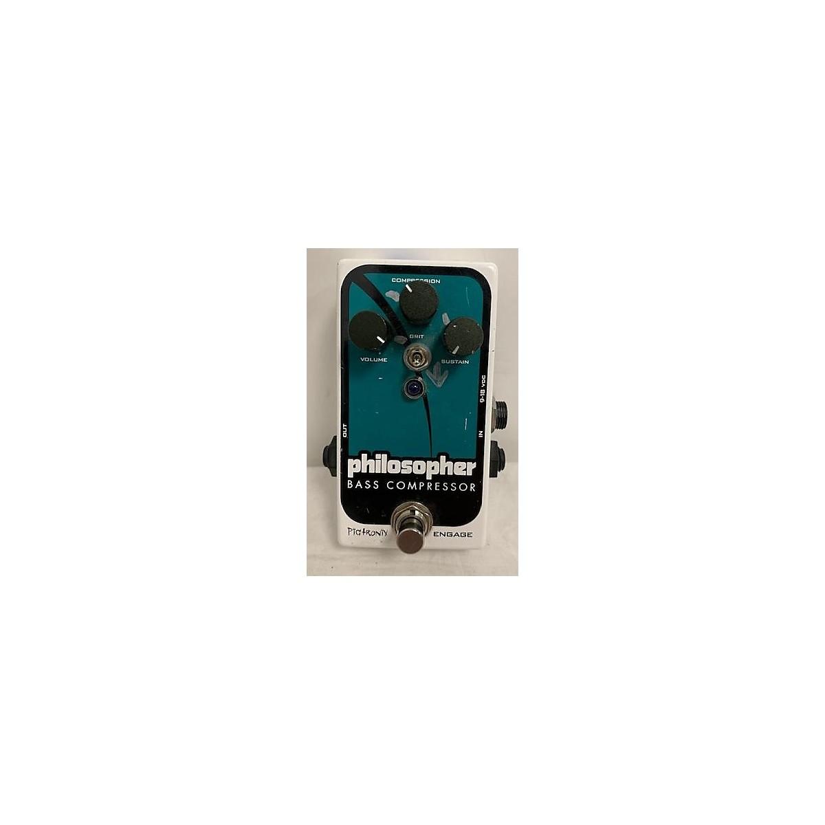 Pigtronix Philosopher Bass Compressor Bass Effect Pedal