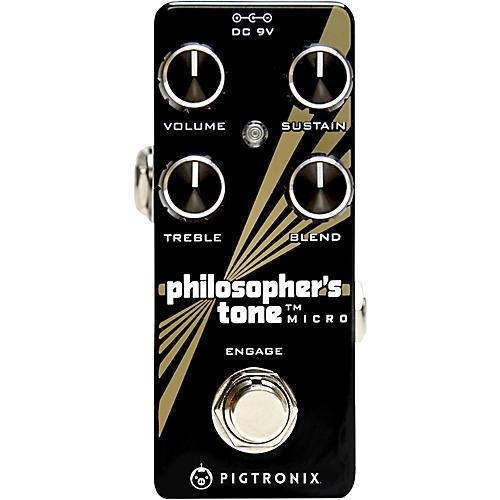pigtronix philosopher 39 s tone micro compressor effects pedal guitar center. Black Bedroom Furniture Sets. Home Design Ideas