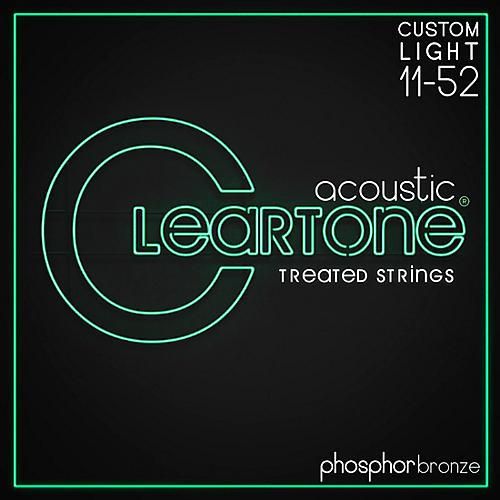 Cleartone Phosphor-Bronze Extra Light Acoustic Guitar Strings