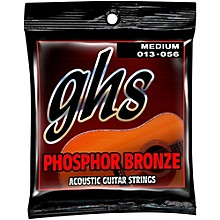 GHS Phospor Bronze Light Acoustic Guitar Strings (12-54)