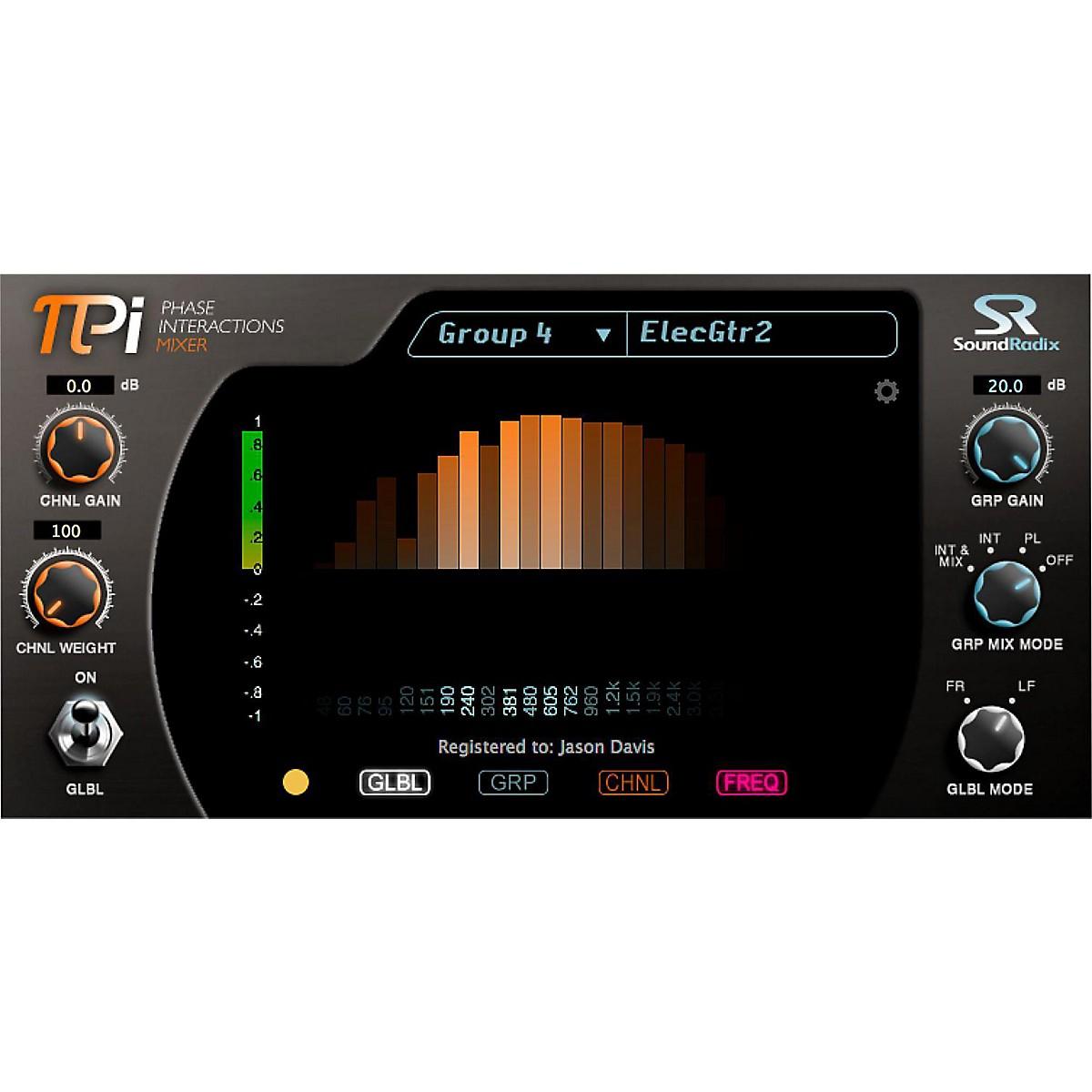 Sound Radix Pi Phase Interactions Mixer