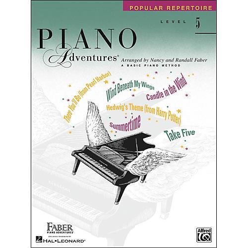 Faber Piano Adventures Piano Adventures Popular Repertoire Level 5 - Faber Piano