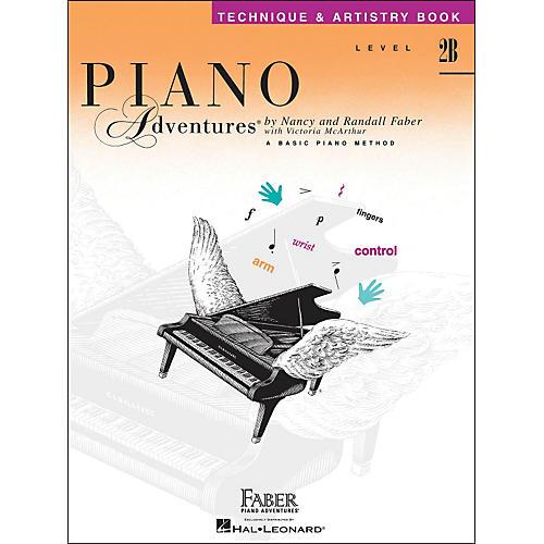 Faber Piano Adventures Piano Adventures Technique & Artistry Book Level 2B