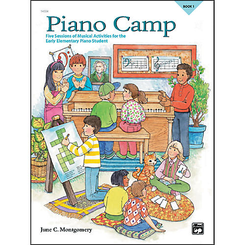 Alfred Piano Camp Book 1