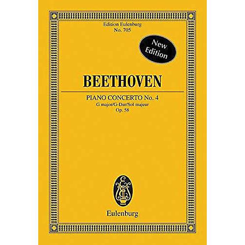 Eulenburg Piano Concerto No. 4, Op. 58 in G Major Schott Series