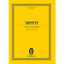 Eulenburg Piano Concerto (Study Score) Study Score Series Composed by Michael Tippett