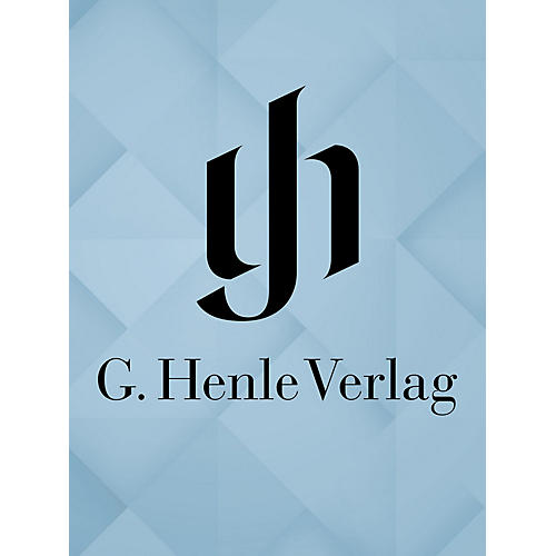 G. Henle Verlag Piano Concertos III Henle Edition Series Hardcover