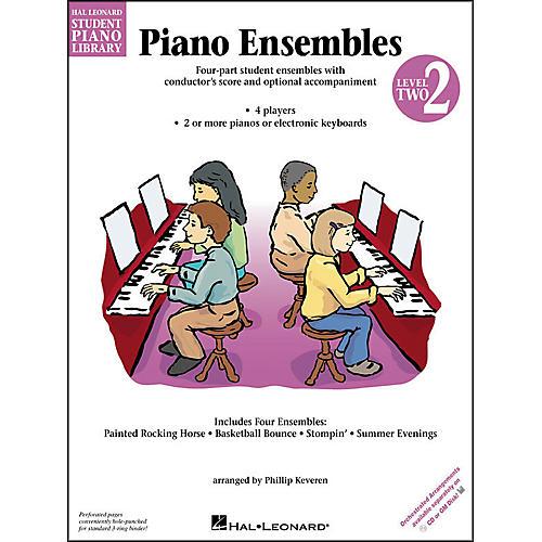 Hal Leonard Piano Ensembles Book 2 Hal Leonard Student Piano Library