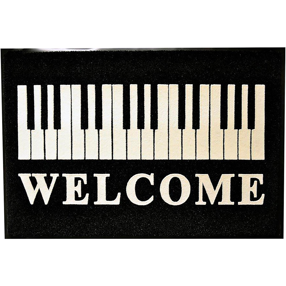 AIM Piano Keys Door Mat