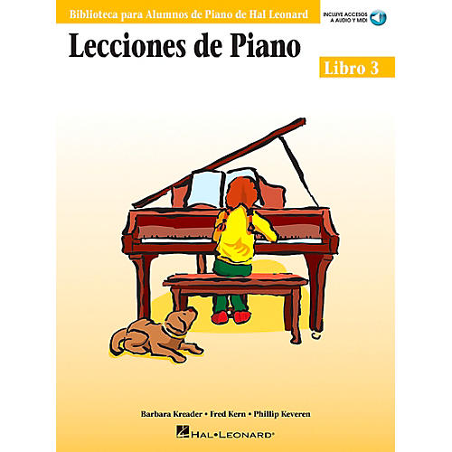 Hal Leonard Piano Lessons Book 3 Book/CD  - Spanish Edition Hal Leonard Student Piano Library