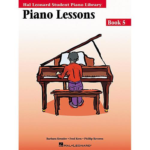 Hal Leonard Piano Lessons Book 5 Hal Leonard Student Piano Library
