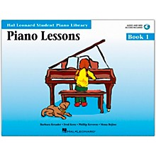 Hal Leonard Piano Lessons Book/Online Audio 1 Book/Online Audio