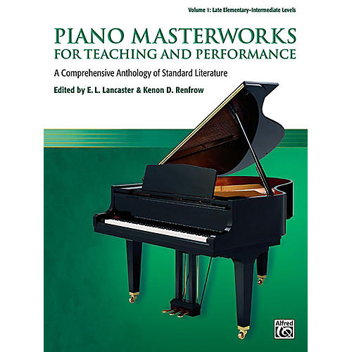 Alfred Piano Masterworks for Teaching and Performance, Volume 1 - Late Elementary / Intermediate