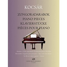 Editio Musica Budapest Piano Pieces EMB Series Softcover Composed by Miklós Kocsár