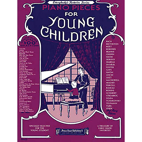 Music Sales Piano Pieces for Young Children Music Sales America Series Softcover