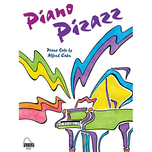 SCHAUM Piano Pizazz Educational Piano Series Softcover