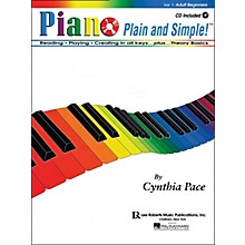 Hal Leonard Piano Plain And Simple with CD