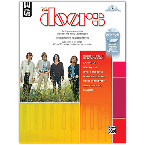 Alfred Piano Play-Along The Doors,Piano Vocal Songbook & DVD-ROM