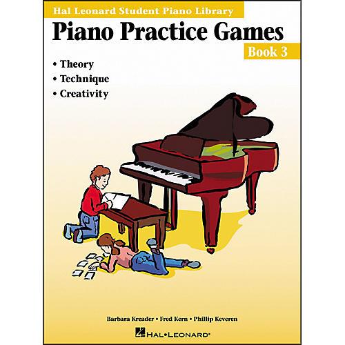 Hal Leonard Piano Practice Games Book 3 Hal Leonard Student Piano Library