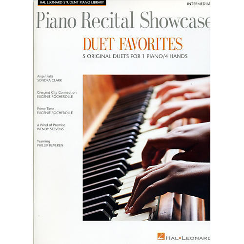 Hal Leonard Piano Recital Showcase - Duet Favorites - 5 Original Duets For 1 Piano/4 Hands