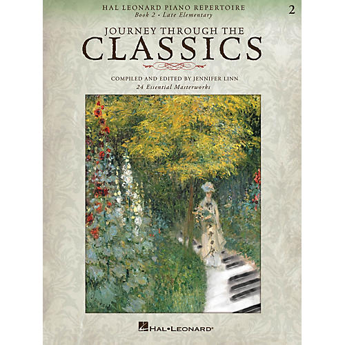 Hal Leonard Piano Repertoire Series - Journey Through The Classics Book 2 Late Elementary