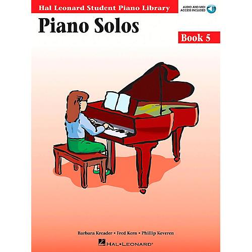 Hal Leonard Piano Solos Book 5 Book/CD Hal Leonard Student Piano Library