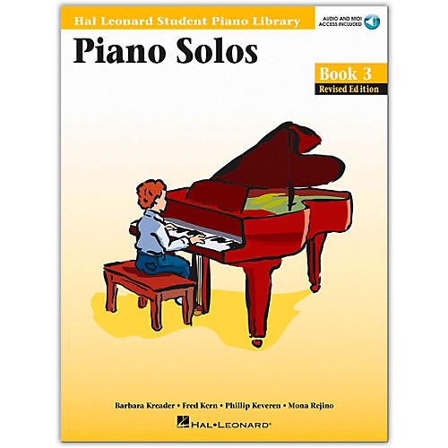 Hal Leonard Piano Solos Book/Online Audio 3 Hal Leonard Student Piano Library Book/Online Audio
