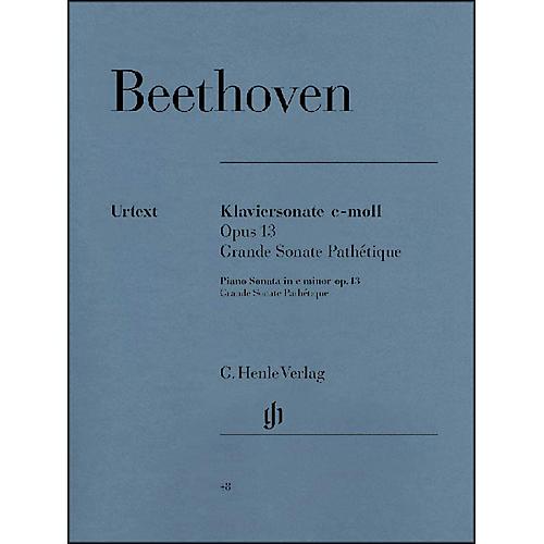 G. Henle Verlag Piano Sonata No. 8 in C minor Op. 13 [Grande Sonata Pathtique] By Beethoven