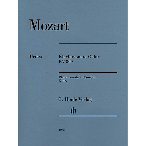 G. Henle Verlag Piano Sonata in C Major, K. 309 (284b) Henle Music Softcover by Mozart Edited by Ernst Herttrich